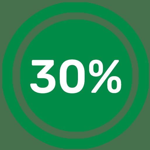 30-pour-cent